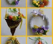 cannucce carta Pasqua