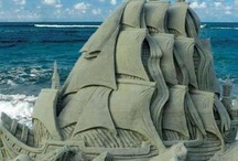 Amazing sand sculptures / Cool art sand castles - most are really so artistic they are sculptures.  Truly amazing and inspiring how beautiful these creations are!