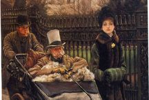 Tissot- Victorian Academic Style. / by Esther Morales