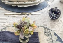 table setting & decor