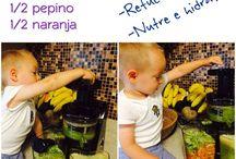 jugos y comidas para bebé