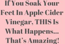 Soak your feet in Apple Cider  Vinegar.