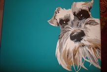 my schnauzer wuff's(loves) / can't have too many schnauzers, so many schnauzers to love, so little time. when i die i do not want to go to heaven, i want to go to rainbow bridge, so i can be with all my children that i've lost, i can't wait / by jeff davis