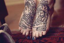 tattoos / by Hannah Mattson