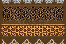 keltské ornamenty