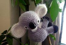 Free Koala Crochet Patterns / by Sharon Ojala