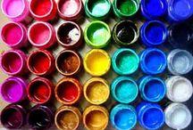 Luminarte Silks / Ideas, inspiration and tutorials using Luminarte Silk acrylic glazes