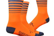 Sockdoping / Velotastic's range of socks suitable for use both on and off the bike.
