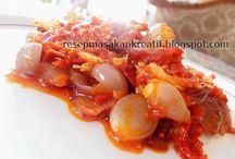 Recipe sambal