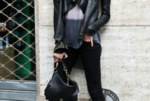 Rock chick / Something edgy.