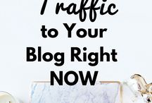 Blog Traffic / Strategies, tips and techniques to increase traffic.
