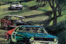 Auto Racing Posters