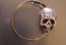 Skull jewelry.