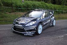 Rally car design
