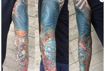 Tattoos - Col Cooper / Col Cooper is working in Chester UK. Checkout his incredible work!