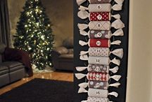 Christmas / Paper roll countdown