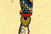 Tradiciona tattoo