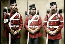 British Imperial Soldiers, New Zealand Land Wars, 1845 - 1872.