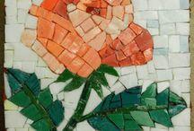 Mozaik gül