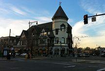 Corner, Brookline