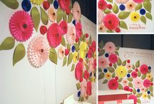 DIY Backdrops / An extension of my blog post on DIY Party Backdrops  http://inspireddesign44.blogspot.com/2011/10/beautiful-backdrops-easier-than-you.html