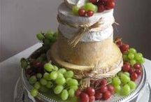 French wedding cheese towers
