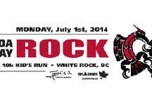 Canada Day ROCK 10km, 5km & Kids Run / Walk jog run race