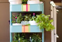 Home - Kitchen / Decorating and organisation tips for our tiny kitchen