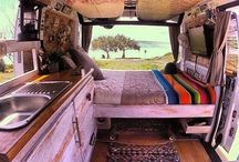 vacation in a campervan