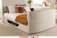 Leather TV Bed
