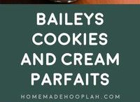 Baileys Cookies and Cream Parfaits