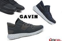 Gavin Ανδρικά Αθλητικά παπούτσια - Μαύρο, Γκρι, Μπλε    39€