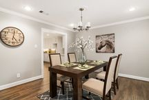 Dining Rooms by Staging The Nest