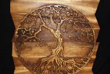 Tree of life pewter