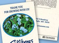 Personalized Flower Seed Packets / Great seed packet ideas for schools, non-profits, for-profits, realtors, churches, special events and lots more.