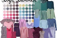 Fashion Interests - Colour - Summer: Soft