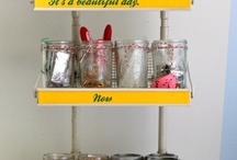 Organized Crafts / by Laura (Organizing Junkie)