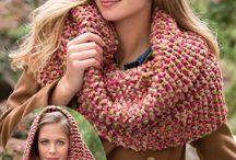 вяжем шарф шапку варежки
