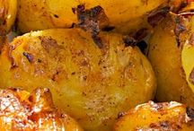 Potatoes crunchy
