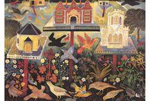 Birdies / Bird art, paintings, photos, sculptures, fabric designs, figurines