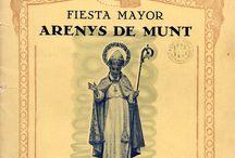 FESTA MAJOR DE SANT MARTÍ: PROGRAMES / PROGRAMES DE LA FESTA MAJOR DE SANT MARTÍ DES DE L'ANY 1939