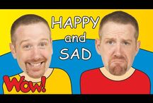 English for kids - Emotions and Feelings / Educational and entertaining interactive materials for kids presenting vocabulary of emotions and feelings. Watch the stories with Steve and Maggie, have fun and learn at the same time! If you want to see more visit free YouTube channel Wow English TV: https://www.youtube.com/c/WOWENGLISHTV