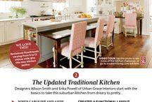 {Kitchen Magazine Clippings} / by Amy Bezdek