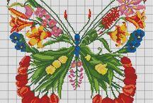 Předlohy-motýli
