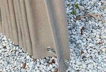 Utendørs gardiner