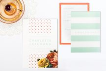 Invitation meets Inspiration: Dotty about you / We've created a creative wedding look inspired by our Dotty about You wedding stationery. A perfect summer mix of coral and mint hues! ⚡ A little of our paper goodness can go a long way! ⚡