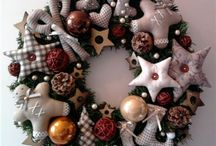 inspirace vánoce / šití  vanoce