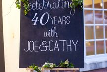 Ruby anniversary party ideas