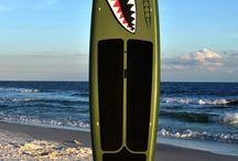 Tavole da surf dipinte