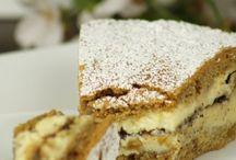 torta crema e ricotta al caffe'
